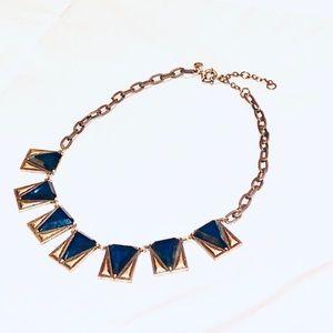 🎈J. Crew Navy/Bronze Necklace